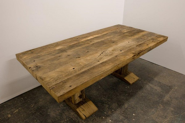 Tisch Rustikal eichen tisch rustikal